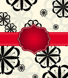 Holiday Frame Card Royalty Free Stock Images