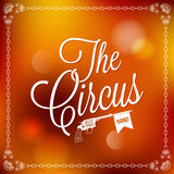Holiday - frame happy circus Stock Images