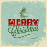 Holiday - frame happy merry christmas Stock Images
