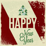 Holiday - frame happy merry christmas new year Royalty Free Stock Image
