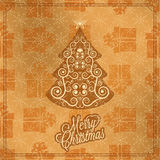 Holiday - frame happy merry christmas new year Royalty Free Stock Photo