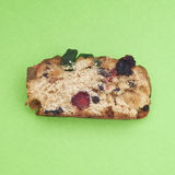 Holiday Fruit Cake Royalty Free Stock Image