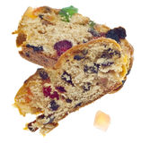 Holiday Fruit Cake Royalty Free Stock Images