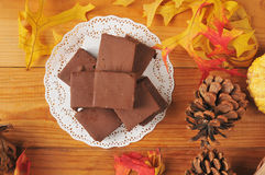 Holiday fudge candy Royalty Free Stock Photography