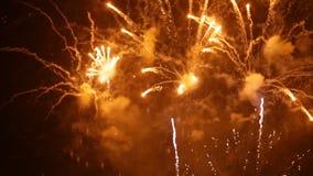 holiday Fuegos artificiales de la noche metrajes