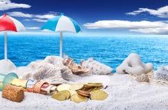 Holiday Fund, beach Stock Photo