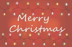 Holiday garland Royalty Free Stock Image