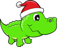 Holiday Gator Safari Vector Royalty Free Stock Photography