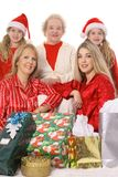 Holiday generations royalty free stock photo