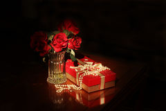 Holiday gift background Royalty Free Stock Photo