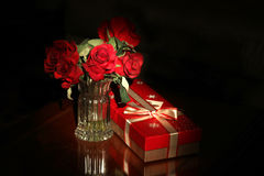 Holiday gift background Royalty Free Stock Photography