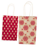 Holiday Gift Bags Royalty Free Stock Image