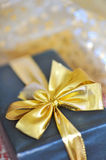 Holiday gift box Royalty Free Stock Image