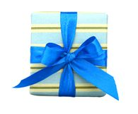 Holiday gift box Royalty Free Stock Photo
