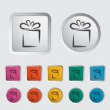 Gift icon 2 Royalty Free Stock Photos