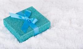 Holiday Gift Box Stock Photography