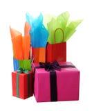 Holiday gift boxe Royalty Free Stock Photos