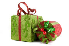 Holiday gift cases Stock Image