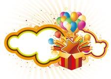 Holiday gift and celebration background Royalty Free Stock Photo