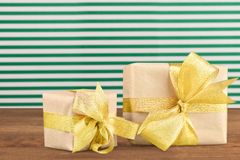 Holiday Gift Royalty Free Stock Photography