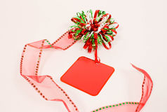 Holiday Gift Tag Stock Images