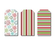 Holiday Gift Tags Royalty Free Stock Images