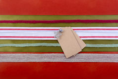 Holiday Gift Wrapping Background. Stock Image