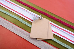 Holiday Gift Wrapping Background. Royalty Free Stock Image