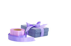 Holiday gift wrapping Stock Photos