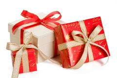 Holiday gifts Royalty Free Stock Photo