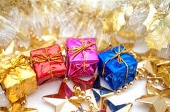 Holiday gifts Royalty Free Stock Photos