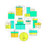 Holiday Gifts Concept Royalty Free Stock Images