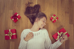 Holiday gifts Stock Photo