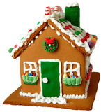 Holiday Gingerbread House Stock Images