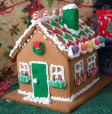 Holiday Gingerbread House Royalty Free Stock Photography