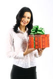 Holiday girl Stock Images