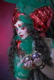 Holiday girl. Royalty Free Stock Image