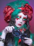 Holiday girl. Stock Photo