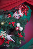 Holiday girl. Stock Photography