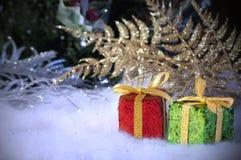 Holiday Glitter Stock Photo