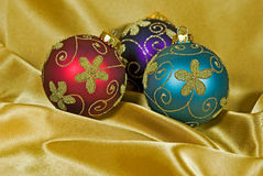 Holiday Gold Stock Images