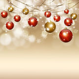 Holiday Golden Magic Background Royalty Free Stock Image