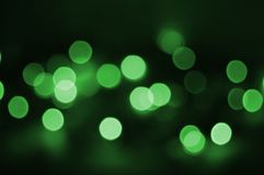 Holiday green light Stock Images