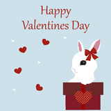 Holiday greeting card happy Valentine`s day. pattern for decorat Royalty Free Stock Photography