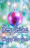 Holiday greeting card stock photos
