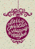 Holiday greeting card Royalty Free Stock Images