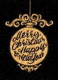 Holiday greeting card Royalty Free Stock Photography