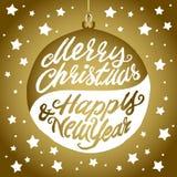 Holiday greeting card Stock Image