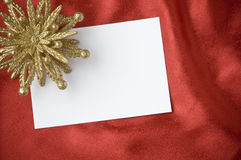 Holiday greeting idea Stock Images