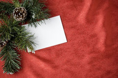 Holiday greeting idea Royalty Free Stock Photography